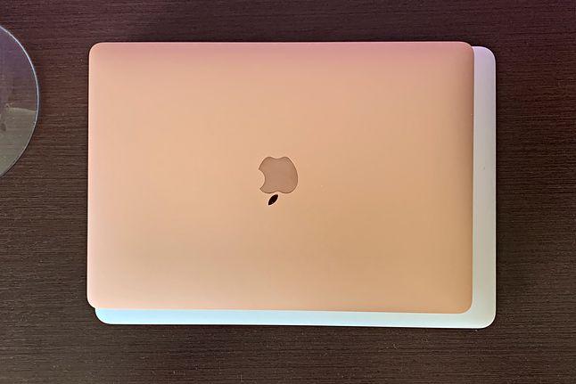 Nowy MacBook Air jest zauważalnie mniejszy mimo iż przekątna ekranu to wciąż 13,3 cali.