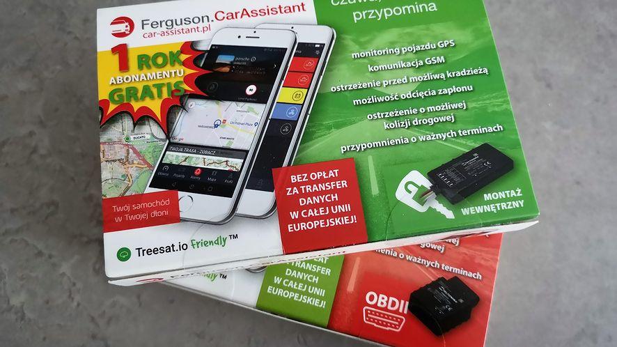 Ferguson Car Assistant dostępny jest w dwóch wersjach - do montażu w gniazdo OBDII i bezpośrednio do instalacji auta