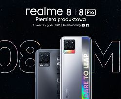Polska premiera smartfonów realme z serii 8. Fotograficzna rewolucja w średniej półce