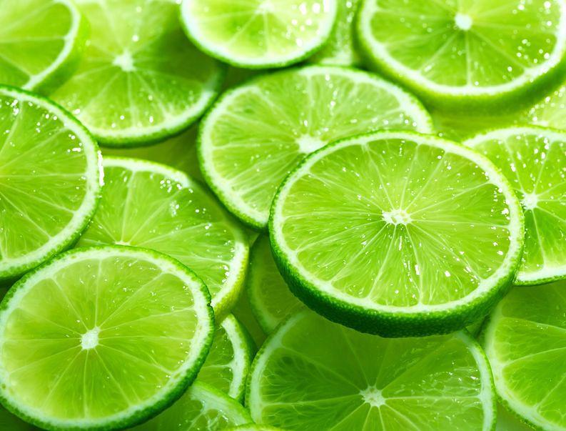 Limonka - 29 mg witaminy C w 100 g produktu