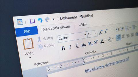 Windows 10 wyświetli kolejne reklamy Office'a. Tym razem w WordPadzie