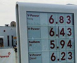 Ceny na stacjach przechodzą ludzkie pojęcie. Zdjęcie od czytelnika