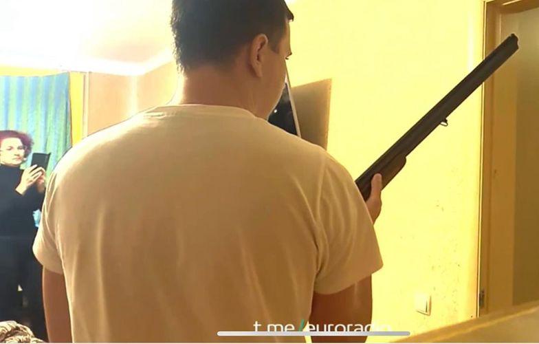 Mieszkaniec Mińska zastrzelił oficera KGB. Drastyczne nagranie w sieci