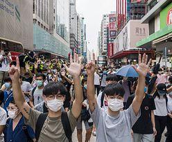 Chiny grożą USA kontratakiem za działania w sprawie Hongkongu