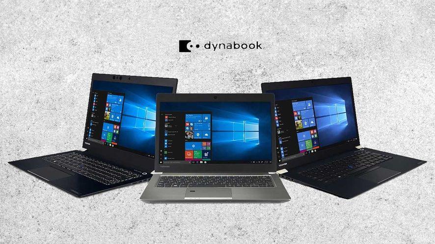 Dynabook to nowa nazwa laptopów marki Toshiba (fot. materiały prasowe NTT System)