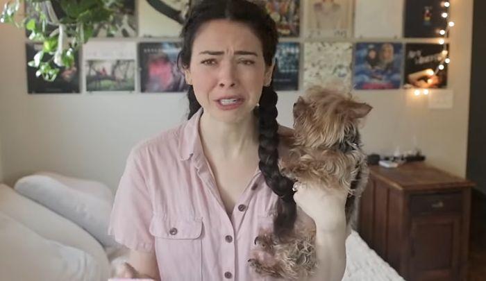 Youtuberka Nikki Philippi uśpiła psa, bo zwierzę ugryzło dziecko