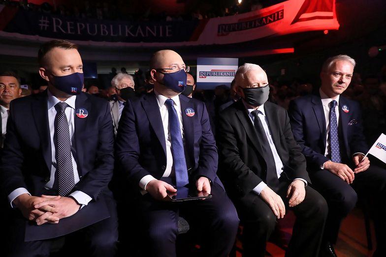 Powstała Partia Republikańska. Adama Bielana wsparł Jarosław Kaczyński