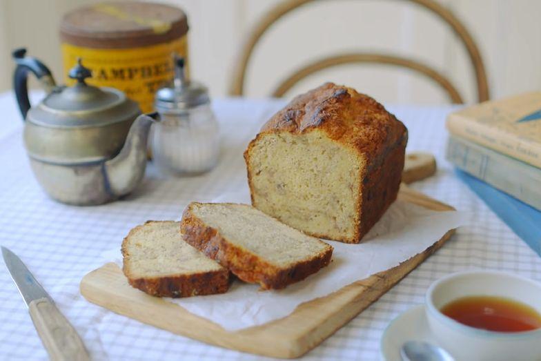 Prosty przepis na chlebek bananowy. Wykonanie go nie zajmie więcej niż 15 minut!