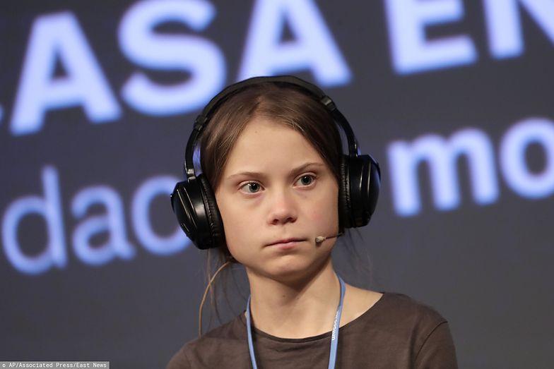 Greta Thunberg zaatakowana. Dziennikarz zdenerwował się na Szwedkę