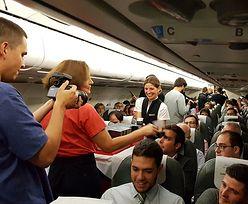 Niespodzianka na pokładzie samolotu Iberia Airlines. Pasażerowie dostali prezenty
