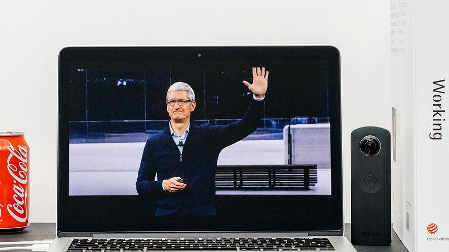Apple ze sporym spadkiem na giełdzie. (depositphotos)