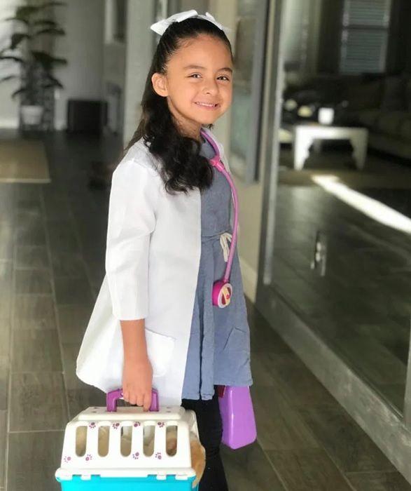 Sophie chce zostać weterynarzem
