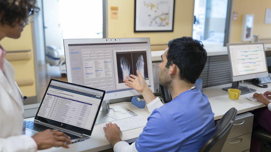 HP prezentuje nowe komputery dla służby zdrowia