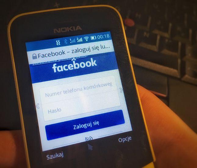 Facebook na telefonie Nokia 8110 4G