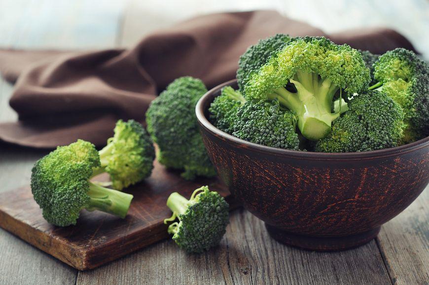 Brokuły zamiast jarmużu