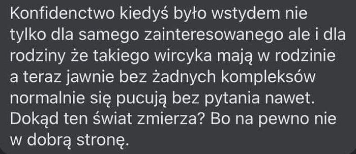 Komentarz o przekraczaniu prędkości przez Kizo
