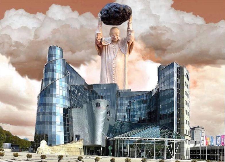 Ruszyła lawina memów. Pomnik Jana Paweł II na ustach internautów