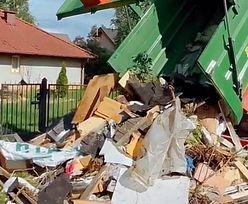 """Akcja niczym z """"Rancza"""". Śmieci z lasu wróciły do właściciela"""