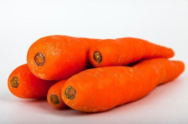 Żółte i pomarańczowe warzywa