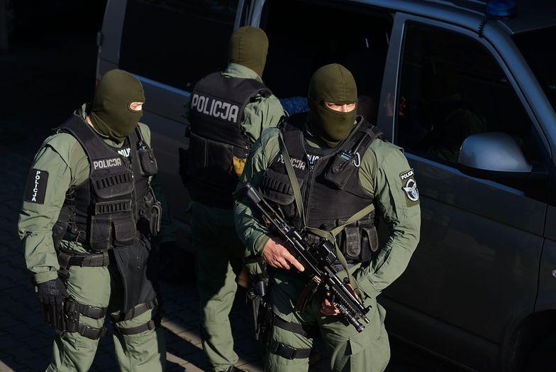 Akcja policji na osiedlu Toruńskim