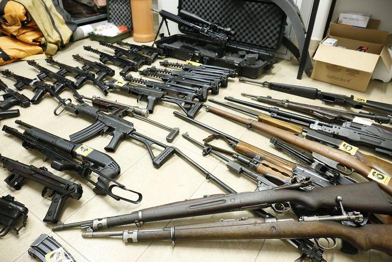 Lubelskie. Wielki arsenał broni odkryty w domku letniskowym