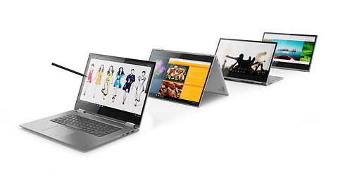 Lenovo na MWC prezentuje nowe hybrydy z serii Yoga z ekranem 4K