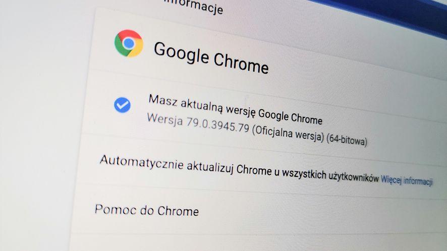 """Google Chrome 79 """"zamraża"""" karty, by oszczędzać energię"""
