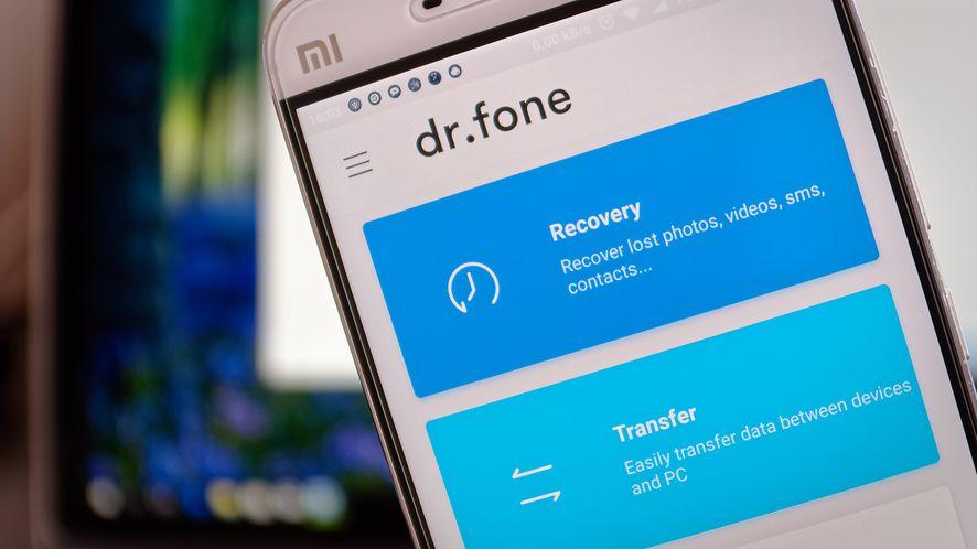 dr.fone Recover dla Androida. Jak odzyskać utracone dane ze smartfona?
