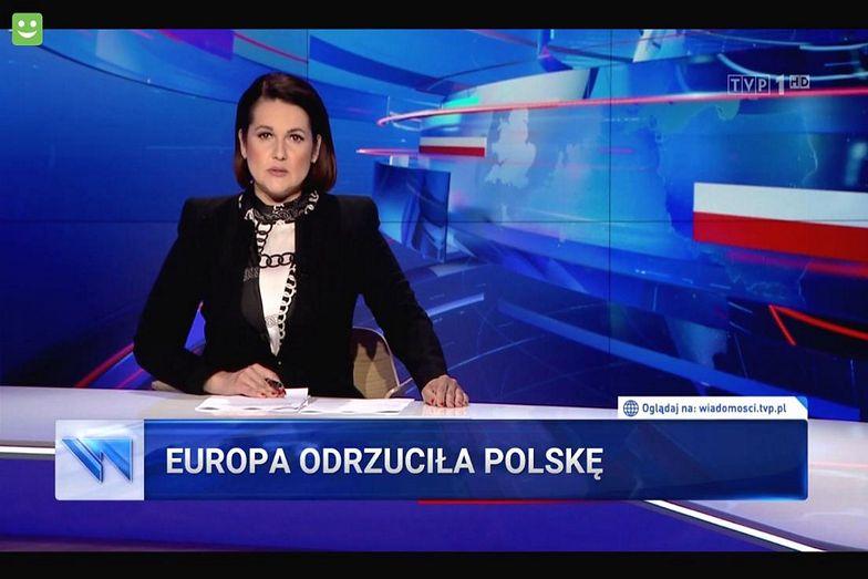"""""""Paski TVP"""" po Eurowizji. Internauci płaczą ze śmiechu"""