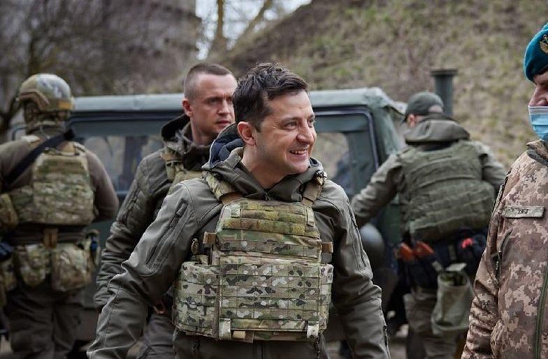 """Cytuje go """"Time"""". Prezydent Ukrainy nie ma złudzeń, o co chodzi Rosji"""