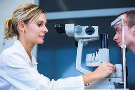 Wykrywanie zespołu suchego oka