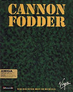 Okładka Cannon Fodder