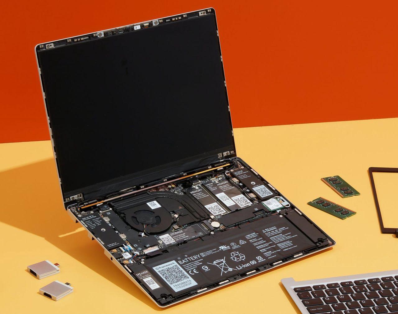 Framework Laptop: Kto nie chce, żebyś mógł naprawić swojego notebooka? (opinia) - Framework Laptop