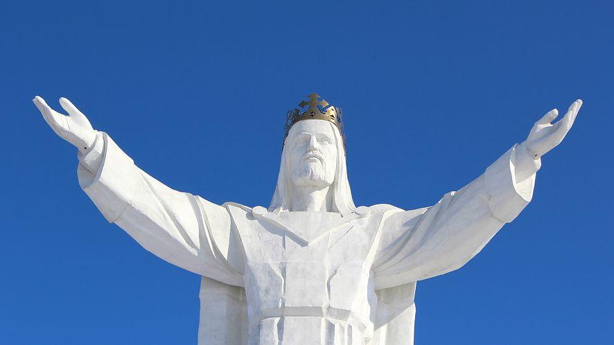 Jezus Chrystus Król Wszechświata z depositphotos