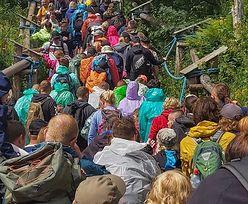 Tłumy w Tatrach. Padł kolejny rekord. Takich liczb jeszcze nie było