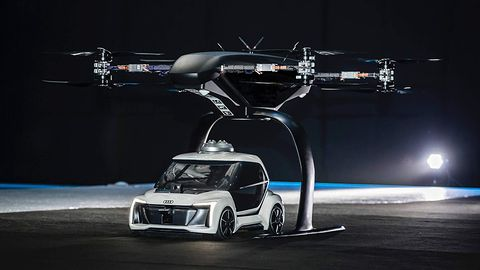 Audi, Airbus i Italdesign opracowały latający samochód. To działa!