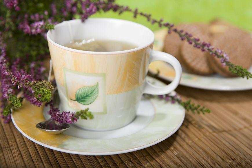 Herbatka z wrzosu działa uspokajająco