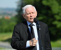 """Niefortunne przejęzyczenie Kaczyńskiego. """"Nie wiem, dlaczego tak powiedziałem"""""""