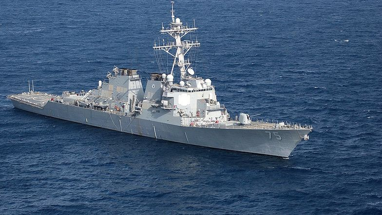 USS Donald Cook - jeden ze okrętów biorących udział w operacji