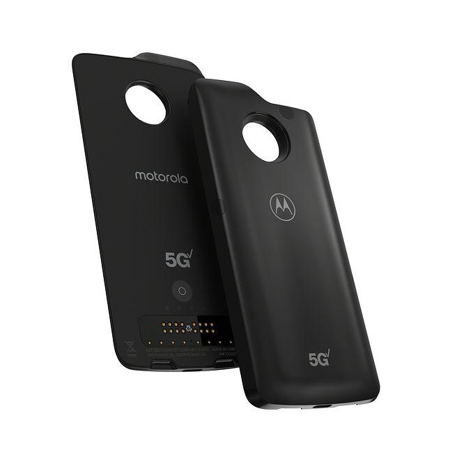 Moto Mod z modemem 5G i dodatkowym akumulatorem