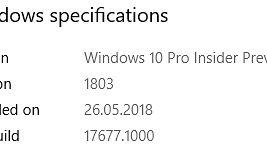 Windows 10 w kompilacji 17677, czyli ponowne skupienie się na rozwoju Microsoft Edge