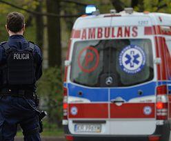 Sieradz. Roztrzęsiona kobieta wezwała policję. Przerażająca sytuacja