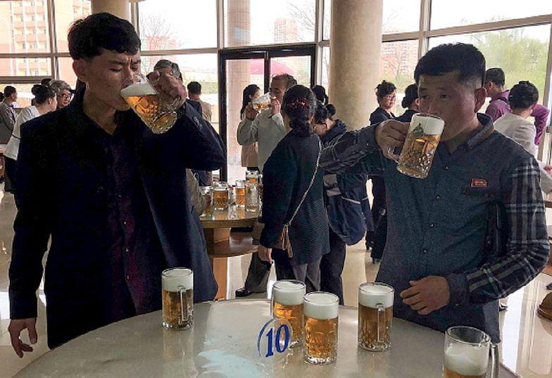 Dostarczał alkohol do Korei Północnej. Został skazany