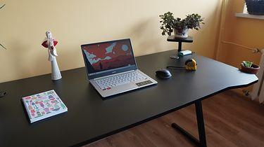 Kurierzy go nie znoszą! Podświetlane biurko Genesis Holm 510 RGB dla graczy ceniących przestrzeń!