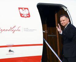 Urlop Andrzeja Dudy. Wiadomo, gdzie poleciał prezydent RP