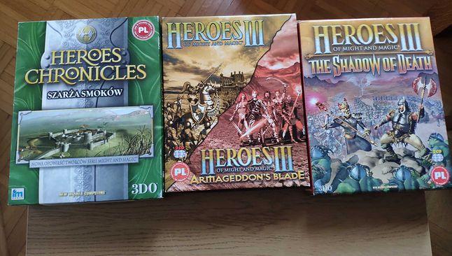 Heroes III, dodatki i Heroes Chronicles: Szarża smoków