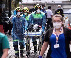 W ogromnym szpitalu w Chile wybuchł pożar. Wiadomo, co było przyczyną