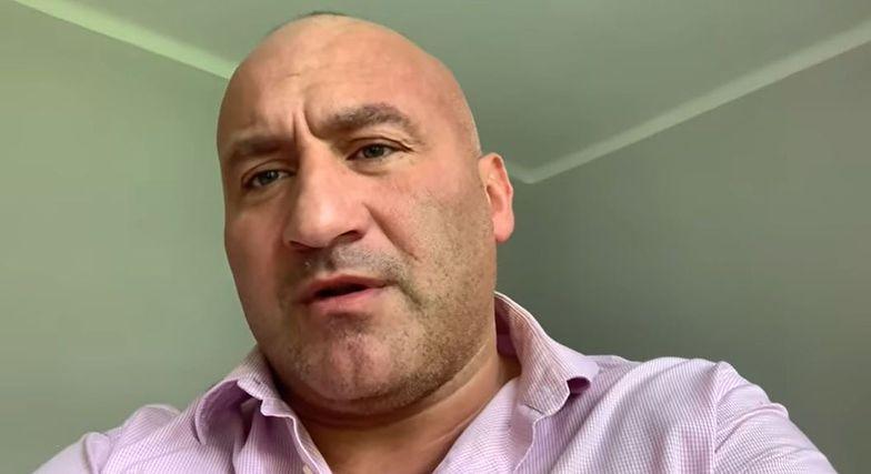 Zakaz stadionowy, a dyskwalifikacja. Marcin Najman kpi z Fame MMA