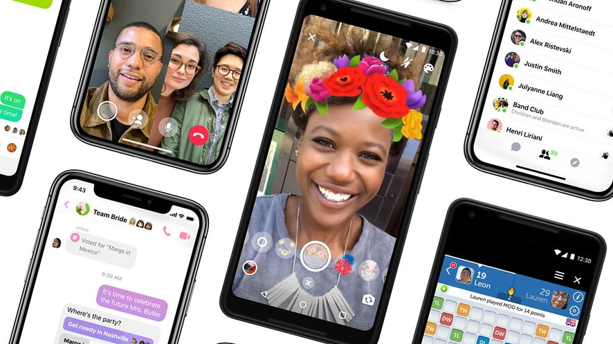 Facebook odziedziczy biały wygląd po Messengerze