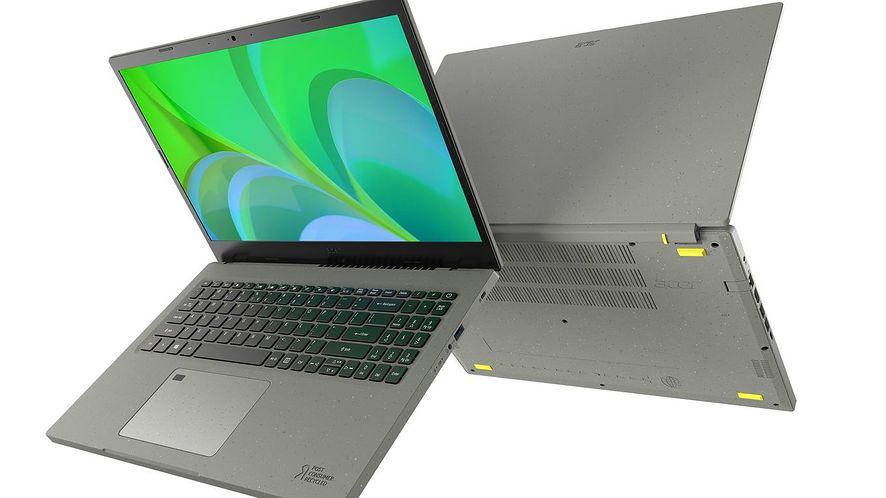Acer Vero, laptop stworzony z surowców odnawialnych